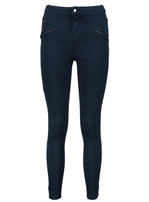 Online Exclusive Dark Denim High Waist Skinny Jeans