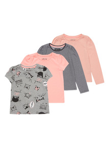 Mix Sleeve Tees 4 Pack (9 months - 6 years)