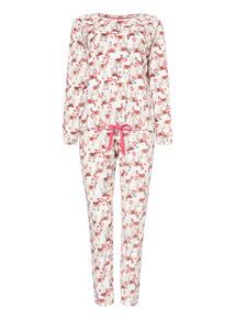 Pink Llama Twosie Pyjama Set