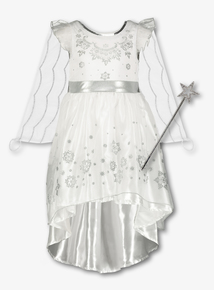 Christmas Nativity White Fairy With Wings (1-10 years)
