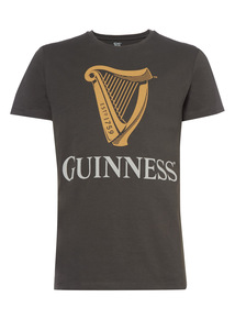 Charcoal Licensed Guinness Tee