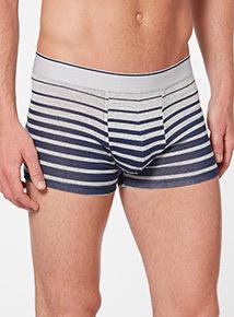 Navy Grad Stripe Hipster Briefs 3 pack