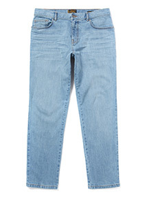 Summer Blue Slim Fit Jeans With Stretch