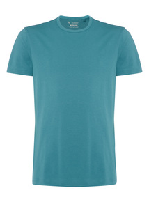 Green Basic Crew T-shirt
