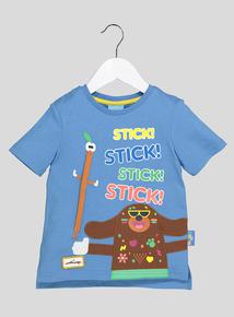 Blue 'Hey Duggee' Stick T-Shirt (9 months-6 years)