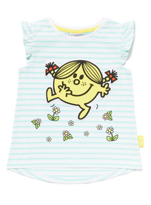 Blue Striped Little Miss Sunshine T-Shirt (9 months-6 years)