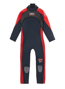 Kids Red Full Wetsuit (3-12 years)