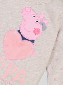 Cream Marl Peppa Pig Sweatshirt (9 months-6 years)