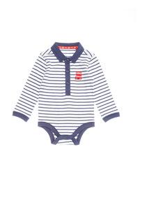 Navy Stripe Bodysuit (0-24 months)