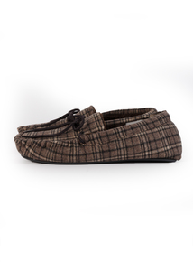 3M Thinsulate Brown Moccassin Slippers