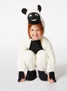 Monochrome Christmas Sheep Costume (3-10 years)