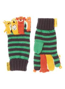 Green Gruffalo Finger Puppet Gloves (2 - 6 years)