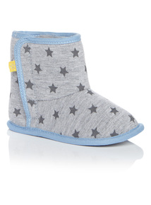 Boys Star Pattern Boots (0-18 months)