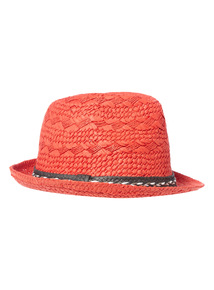 Red Trilby Hat (1-12 years)