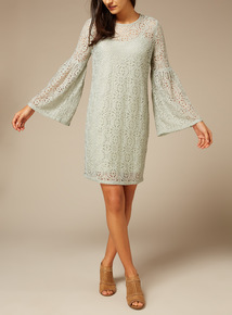 Premium Lace Embroidered Dress
