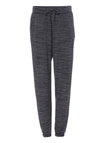 Grey Slouchy Lux Joggers