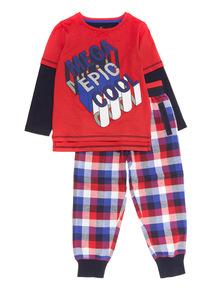 Red Mega Epic Pyjama Set (3-12 years)