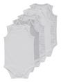 Thumbnail of SKU SS15 5PK WHITE SLESS BODYSUIT:White