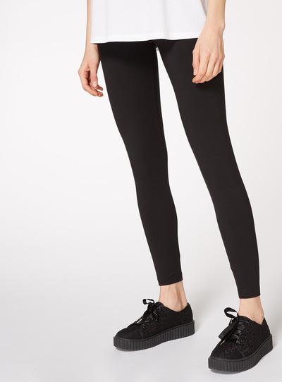 womens black luxurious soft touch leggings tu clothing