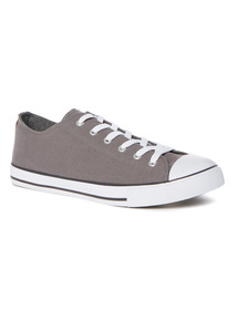 Grey Canvas Shoes