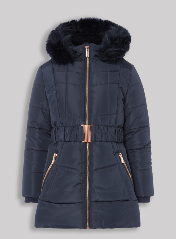dcd963a891e5 Kids Navy Puffer Coat (3-16 years)