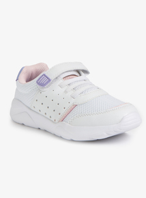 White & Pink Micro-Fresh Trainer