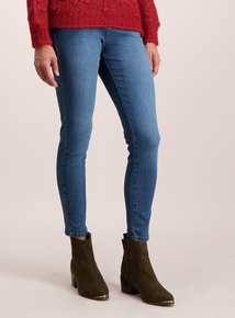 Mid Denim Skinny Stretch Jeans