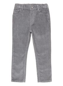 Grey Skinny Cord Trouser (3-12 years)