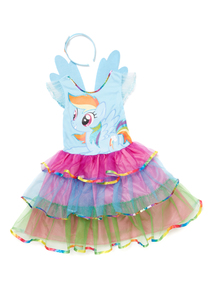 Multicoloured My Little Pony Costume (2 - 10 years)