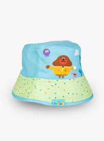 4d8115996ac Hey Duggee Blue Reversible Bucket Hat (1 - 9 years)