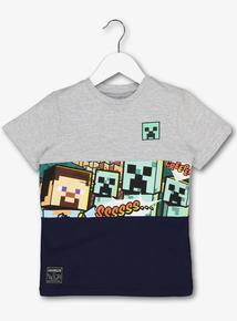 Minecraft Multicoloured T-Shirt (5-14 years)