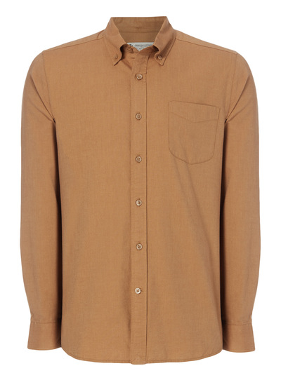 Brown Oxford Shirt