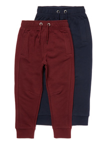 2 Pack Multicoloured Joggers