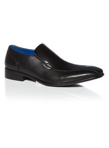 Black Formal Slim Line Slip On Shoe