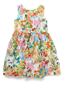 Multicoloured Floral Occasion Dress (9 months - 6 years)