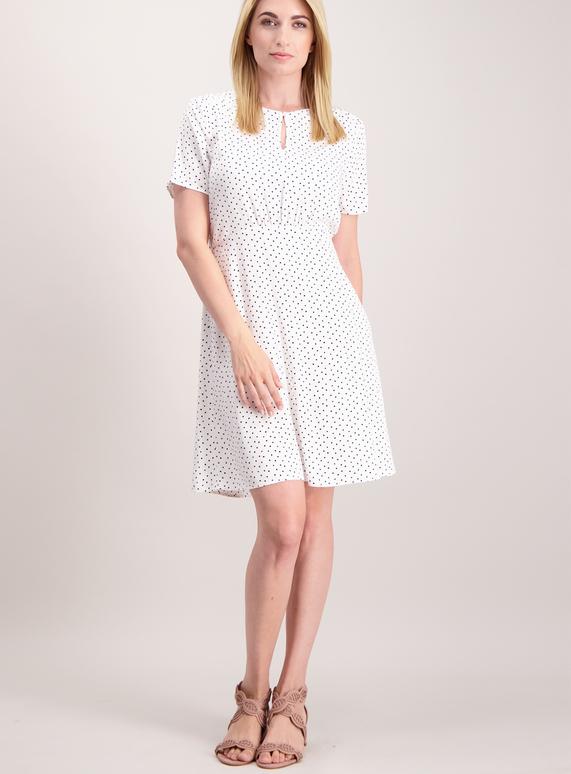 9ea9791b2396 Womens Online Exclusive White Spotty Tea Dress | Tu clothing