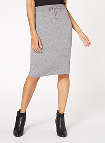 Sporty Drawcord Skirt