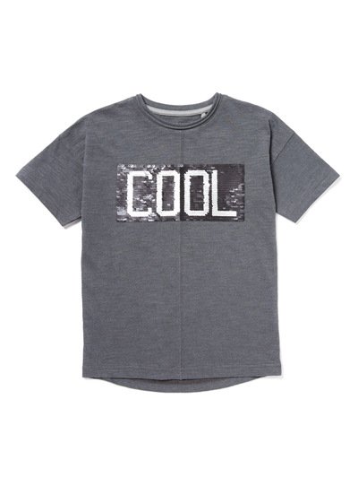 all boy 39 s clothing charcoal 39 cool 39 reversible sequin t shirt 3 14 years tu clothing. Black Bedroom Furniture Sets. Home Design Ideas