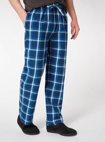 2 Pack Multicoloured Check Pyjama Bottoms