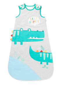 Green Snap Happy Sleeping Bag (0-24 months)