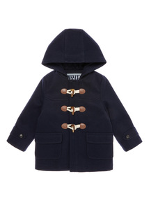 Navy Duffle Coat (9 months-6 years)