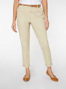 Stone Belted Chinos