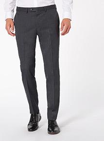 Grey Slim-fit Trousers