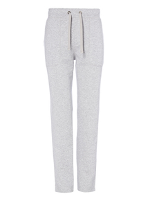 Grey Basic Straight Leg Joggers