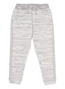 Girls Grey Knitted Joggers (3-12 years)