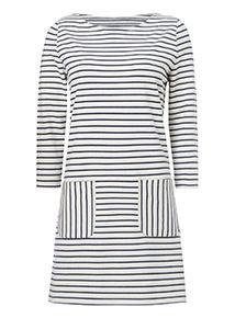 Navy and White Stripe Tunic