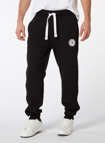 Online Exclusive Russell Athletic Black Ribbed Jogger