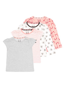 Mixed Sleeve Tees 4 Pack (0-24 months)