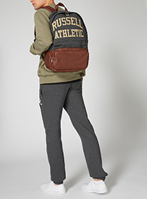 Russell Athletic Grey Leatherette Bag