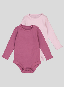 Pink Bodysuits 2 Pack (0-24 Months)